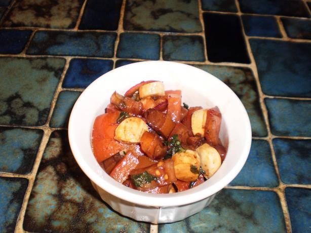 Panera Bread Tomato Mozzarella Salad