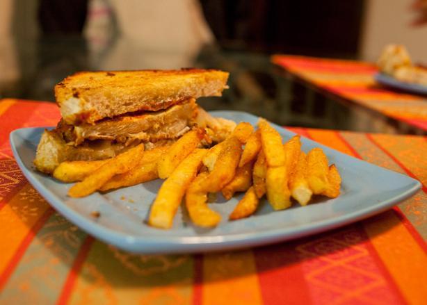 Yummy Chicken Parmesan Sandwiches