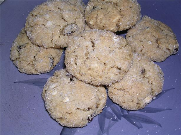 Molasses Oatmeal Cookies