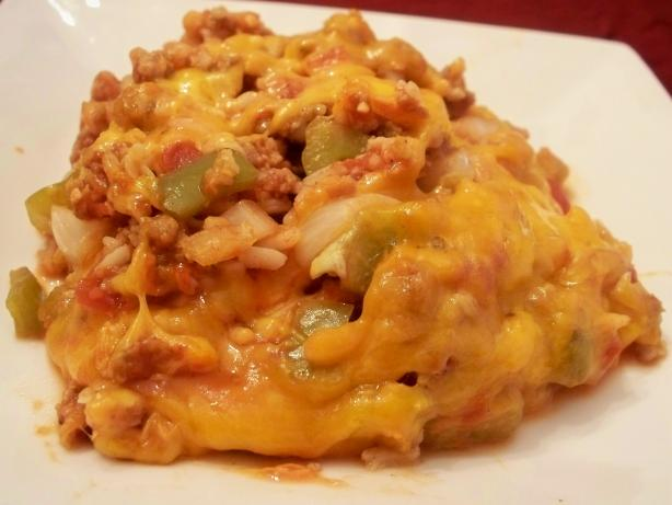 Un-Stuffed Bell Pepper Casserole ( Crock Pot )