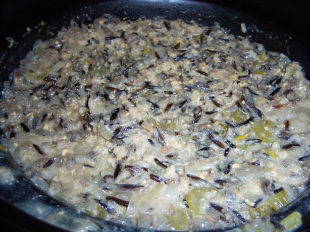 Crock Pot Wild Rice Casserole