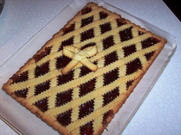 Crostata Di Marmellata (Short Pastry Jam Tart)