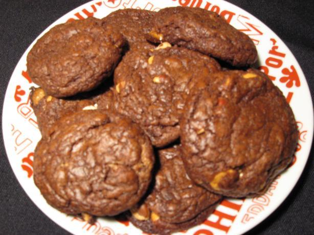 Austin's Peanut Butter Butterscotch Chip Brownie Cookies