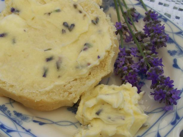 Anna Olson's Honey Lavender Butter