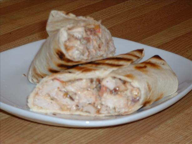 Grilled Chicken-Bacon-Ranch Wraps