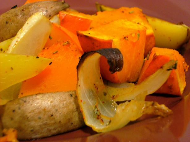 Low-Fat Roasted Veges
