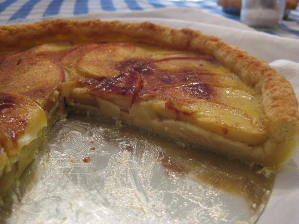 Apple Custard Tart