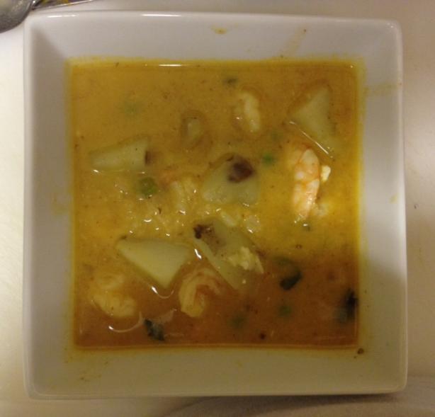 Peruvian Chupe De Camarones (Peruvian Shrimp Chowder)