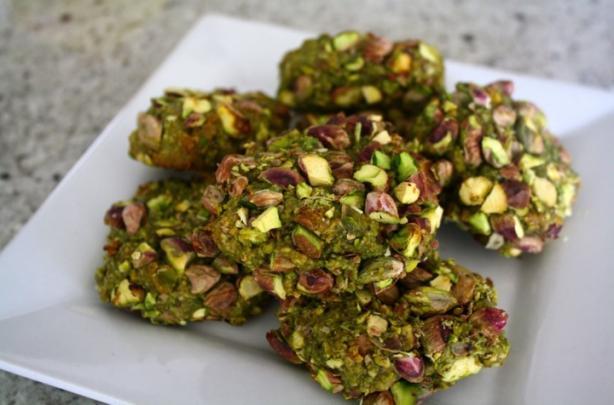 Italian Pistachio Cookies (Gluten/Grain/Sugar-Free)