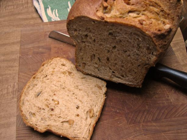Peanut Butter Bread (Bread Machine)