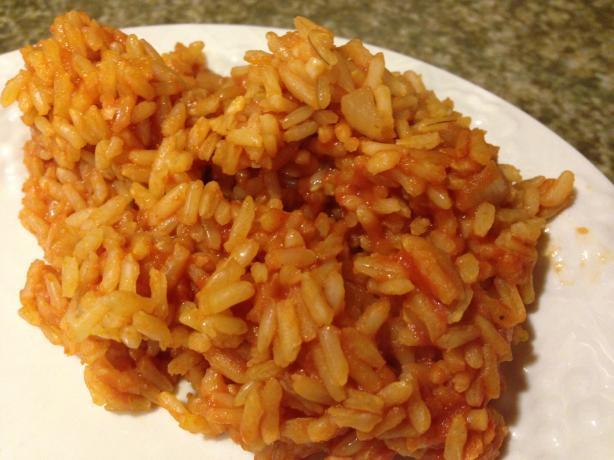Spanish Rice Using Tomato Sauce