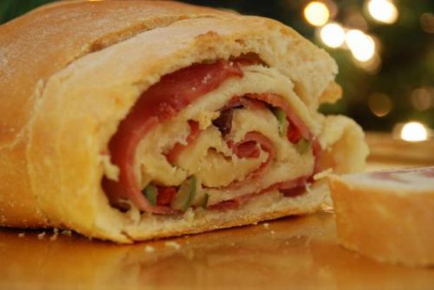 Pan de Jamon (ham bread)