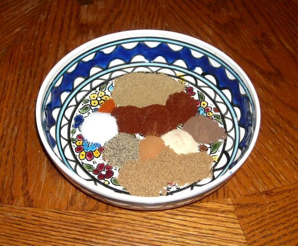 Moroccan Spice Rub (For Lamb & Other Meat)