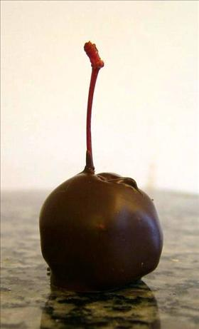 Double Chocolate Covered Cherries