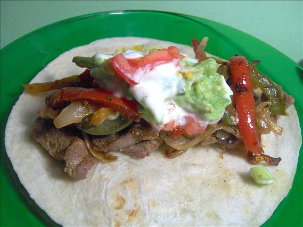 Sheri's Steak Fajitas
