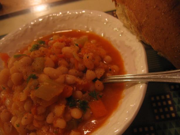 White Bean & Garlic Stew