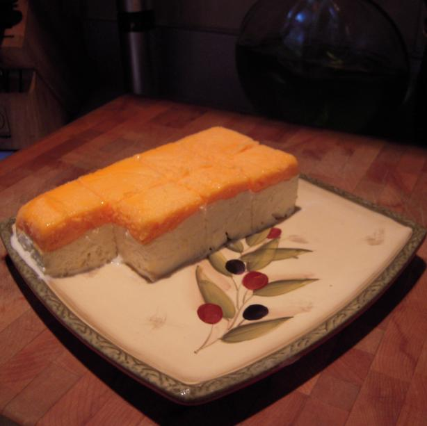 Low Fat Frosty Orange Creme Layered Dessert