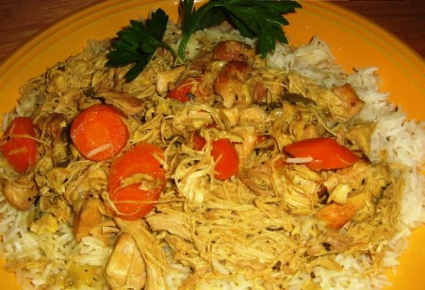 Spicy Marinated Chicken in Onion Sauce