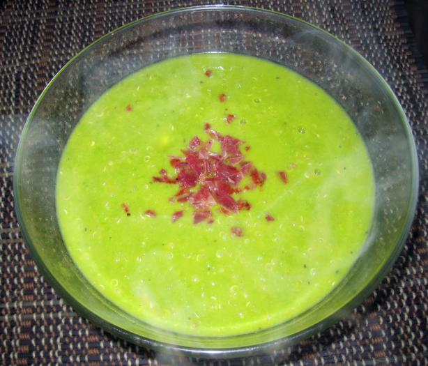 Low Fat Pea Soup With Quinoa