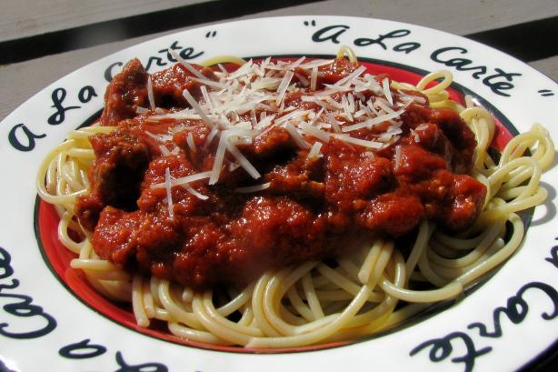 Janet's Favorite Spaghetti Sauce