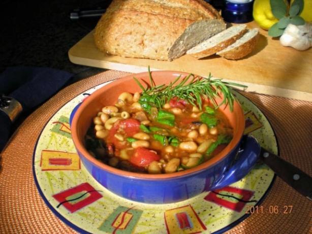 Tuscan Bean Soup (America's Test Kitchen)