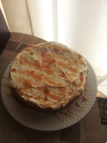 Caramel Layer Cake (Light)