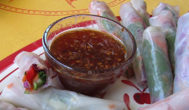 Vegetarian Ricepaper Rolls