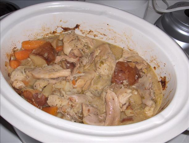 Crock Pot Chicken and Vegetables