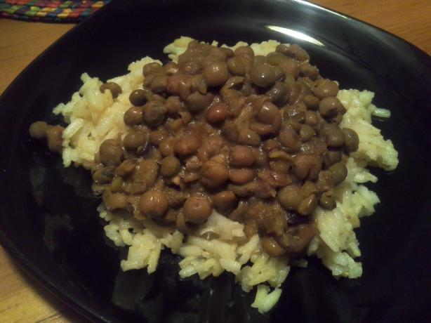 Pigeon Peas and Coconut (Gandules Con Coco)
