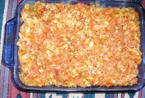 Cabbage Non-Rolls (Casserole)
