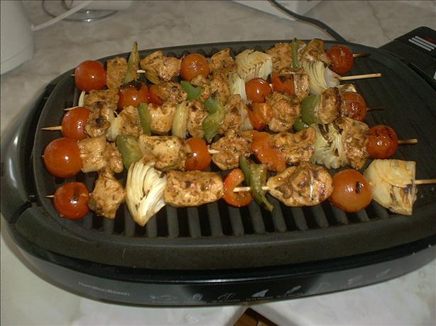 Argentine Grilled Chicken Skewers
