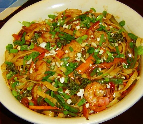 Planet Hollywood Thai Shrimp Pasta