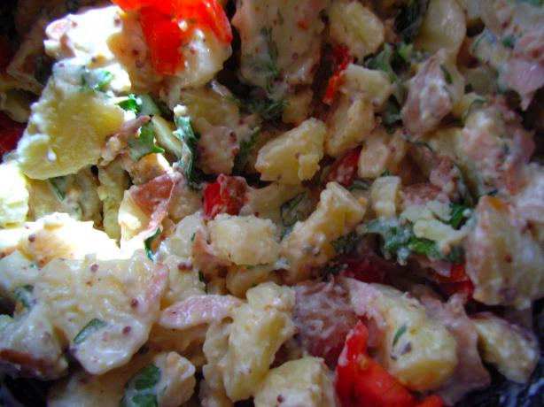Ham and Mustard Potato Salad