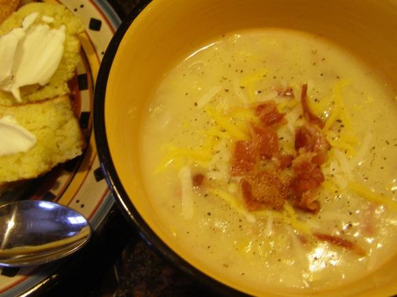 Iowa Ham and Corn Chowder