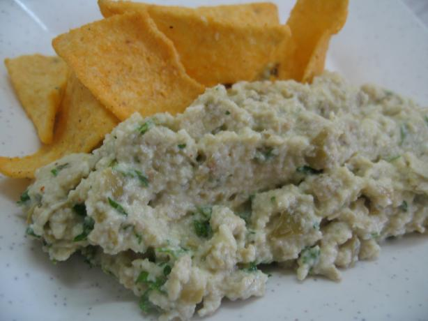 Artichoke and Green Olive Dip