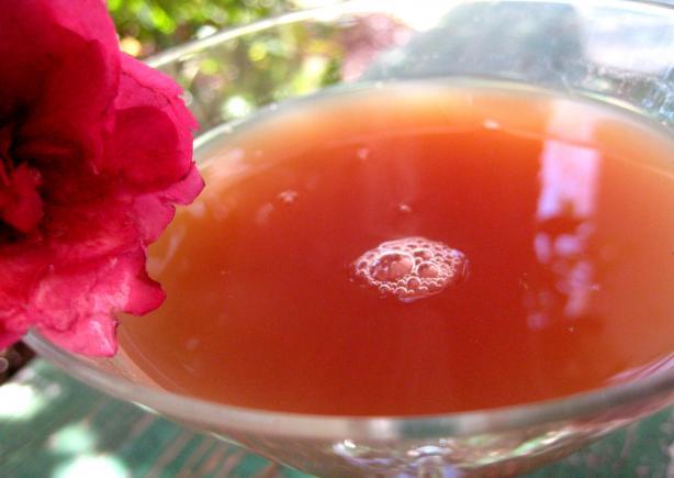 French Chambord Martini