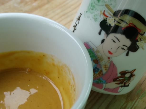 Japanese Mustard Dipping Sauce (Karashi)