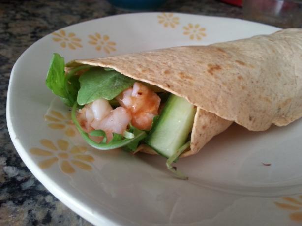 Thai Shrimp Wraps