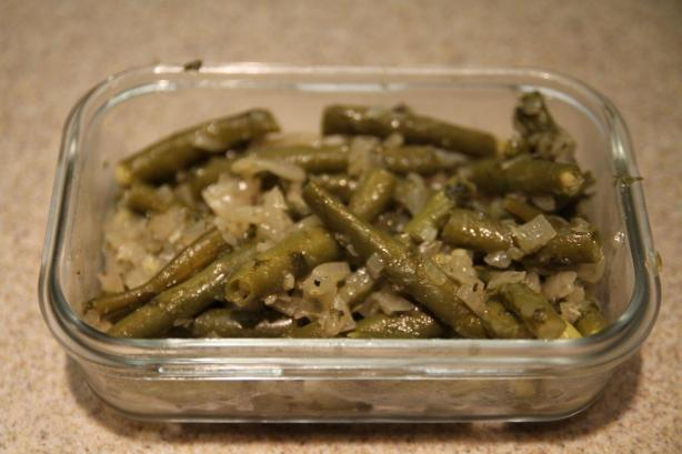 Braised Green Beans With Lemon