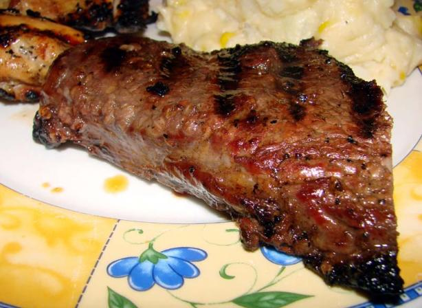 Merlot Marinated Grilled Beef