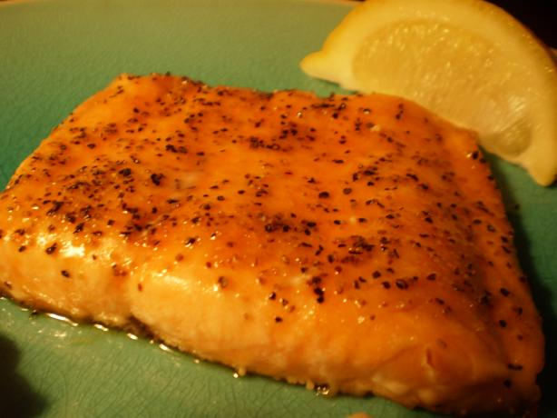 Peppery-Sweet Oven-Roasted Salmon