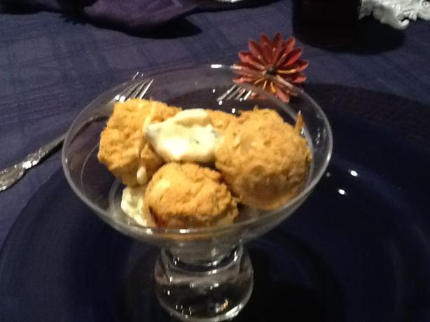 Crab Balls With Lemon-Caper Sauce