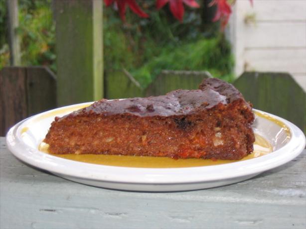 Gluten-Free Persimmon Pecan Cake