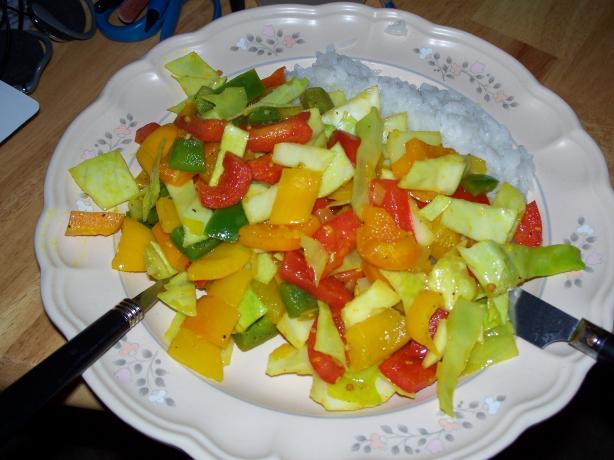 Four Pepper Stir-Fry