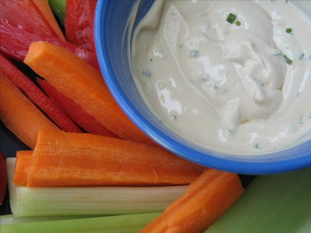 Low-Calorie Dip for Raw Veggies or Potato Chips