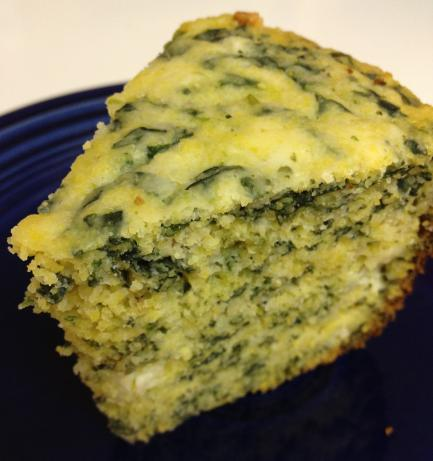 Spinach Gorgonzola Cornbread (Crock Pot)