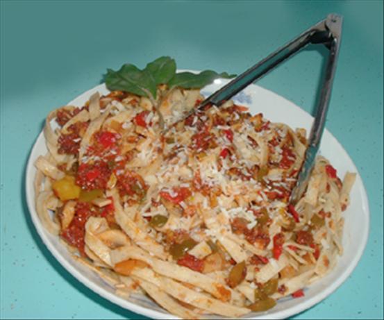 Bacon, Mushroom & Sun Dried Tomato Pasta Sauce