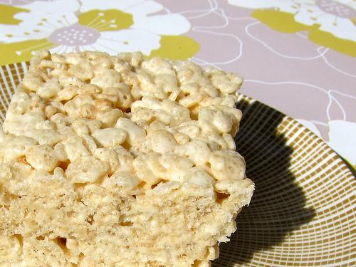 Salted & Spiced Brown Butter Rice Krispie Treats