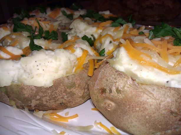 Cheesy Stuffed Potatoes