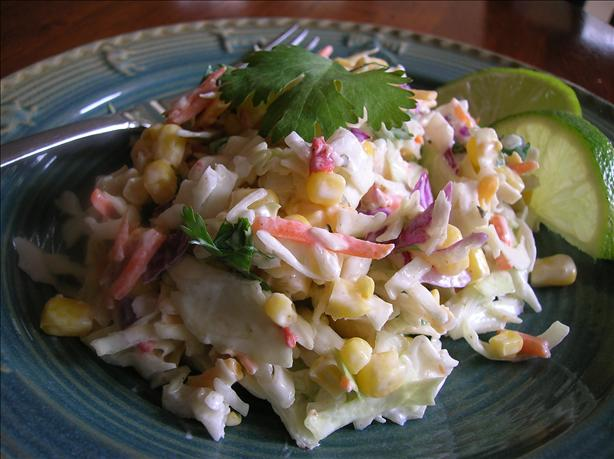 Texas Two-Step Ranch Dressing Cole Slaw